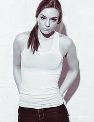 Aagot Sofie Langlie (Bjrn Christiansen) Tags: portrait fashion norway model fotograf photographer norwegian jeans tanktop trondheim portrett singlet testshoot modeltest bjrnchristiansen wwwbj0rnnet aagotsofielanglie elinchromrangerquadrahybrid