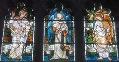 [22933] St Mary, Tadcaster : East Window (Budby) Tags: church window victorian stainedglass northyorkshire williammorris preraphaelite tadcaster burnejones