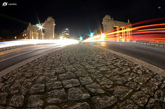 Lighttrails (labelello_photography) Tags: longexposure berlin nikon fisheye tokina lighttrails 1017 langzeitbelichtung langzeit charlottenburgertor d7000