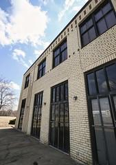 Old Port Columbus (~ Liberty Images) Tags: 1920s windows ohio brick glass architecture moderne artdeco endangered columbusoh endangeredarchitecture libertyimages oldportcolumbusairporttrainterminal