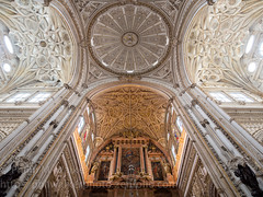 Inside the Mezquita (Phil Walker Photo) Tags: travel spain angle cathedral interior wide ceiling exotic cordoba mezquita wonderment discovery iconic inspiring cultural authentic evocative fav10