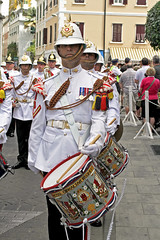 Guard Mount 131 (tony.evans) Tags: music drums sticks military pipes band trumpet marching gibraltar cymbals saxophone clarinet guardmount regiment corpsofdrums royalgibraltarregiment thebandoftheroyalgibraltarregiment marchingbandguardmount