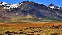 Landscape near Búðir, Iceland (flowerikka) Tags: mountain colors landscape iceland peninsula snæfellsnes volcan