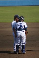 DSC05171 (shi.k) Tags: 横浜ベイスターズ 140601 嶺井博希 イースタンリーグ 平塚球場 小林寛