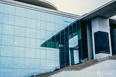 Marie-Elisabeth-Lüders-Haus / Spiegelung