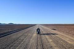 Stunning roads in desertic Damaraland, Namibia (jbdodane) Tags: africa bicycle cycletouring cycling cyclotourisme damaraland day576 desert gravel namibia road velo freewheelycom d2303 jbcyclingafrica