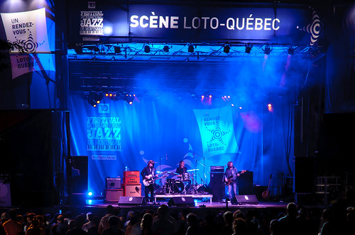 On the Blues Stage