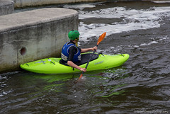 The weekend starts here (spikeybwoy - Chris Kemp) Tags: fun boat whitewater weekend paddle canoe activity teesside tees teesbarrage rivertees