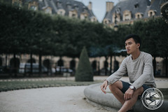 Fading Smoke (Manuel Bally Photography) Tags: asian asianman skinny paris naturallight asianboy 5dmarkiii young youth 2016 portrait boy man
