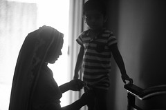 Tales from the princely state (N A Y E E M) Tags: salma nanny umar kalam son today morning bedroom home light rabiarahmanlane chittagong bangladesh availablelight indoors lulu