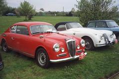 Lancia Aurelia B20 GT & Jaguar XK150 Roadster (andreboeni) Tags: classic car automobile cars automobiles voitures autos automobili classique voiture retro auto oldtimer lancia aurelia b20 gt coupe jaguar xk xk150 roadster sports