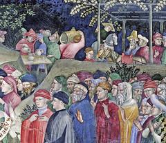 Salimbeni - Saint John baptizing the neophytes (or converts), detail (petrus.agricola) Tags: lorenzo jacopo salimbeni scenes life saint john baptist urbino marche italy oratorio san giovanni battista