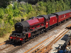 45699 'Galatea' arrives at Dorchester South (adrian77014) Tags: 45699 galatea dorchestersouth lms jubileeclass 5xp
