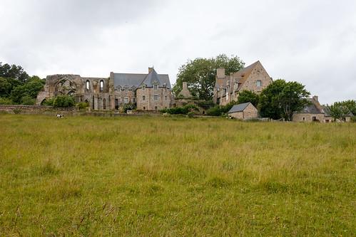 L'abbaye de Beauport à Paimpol