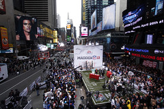 EA Sports Madden Event in Times Square (ProductionsNewYork) Tags: second newyork timessquare eventproduction