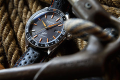 Alpina Watches Jerzy Kukuczka Limited Edition ref. AL-525JK5AQ6AL (Alpina Watches) Tags: al525jk5aq6al al525 limited edition kukuczka jerzy poland polish polska climber alpinist mountaineer signature alpina watch watches automatic honour commemoration orange