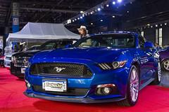 Ford Mustang (Dj_morex) Tags: motorshow larural garagetv expo argentina buenosaires cars exposition vehicle oldcars carshow ford mustang fordmustang blue