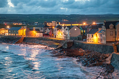 Lahinch Evening (ronlyn77) Tags: clare ireland lahinch wild atlantic way sunset