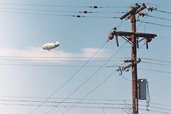 Zeppelin (yoan.mollemeyer) Tags: zeppelin dirigible sky blue usa roadtrip trip travel flight eye cool voyage adventure 35mm filmisnotdead film filmphotography exposure noedit nofilter tucson arizona