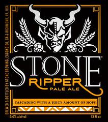 Stone Brewing - Ripper Pale Ale - Escondido CA (mbell1975) Tags: centreville virginia unitedstates us stone brewery ripper pale ale escondido ca beer bier pivo øl cerveza birra cerveja piwo bira bière biere american