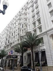 (sftrajan) Tags: neworleans hotel architecture centralbusinessdistrict cbd lepavillonhotel baronnestreet palmtrees newhoteldenechaud hoteldesoto 1900s baywindows toledanowogan toledanoandwogan
