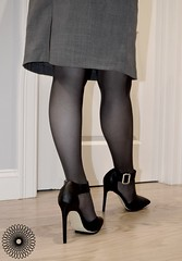 Wife (tcrowne1978) Tags: wolford pantyhose tights nylon stockings heels highheels skirt wife hotwife legs hotlegs