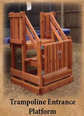 Trampoline Entrance (Backyard Fun Factory) Tags: trampolines backyardfun outdoor toys kids adventures play fun life summer people landscape family home happy morning new usa smile sunny digital market child sunshine baby park swingset playset woodenswingset woodswingset backyardplayset backyardswingset swingsetaccessories playsetaccessories backyardfort woodenfort woodfort swings backyardswingsets slides accessories climbers woodplaysets woodswing