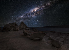 Milky Way Over Remarkable Rocks (Michael Waterhouse Photography) Tags: