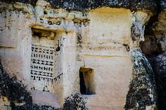 Art (Melissa Maples) Tags: greme turkey trkiye asia  nikon d5100   nikkor afs 18200mm f3556g 18200mmf3556g vr kapadokya cappadocia fairychimneys rockformations caveart art painting greme trkiye