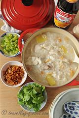 DSC_3627 s (travellingfoodies) Tags: teochewsharkmeatporridge sharkmeat teochew shovelnoseray mueh corianderleaves springonion cilantro ginger