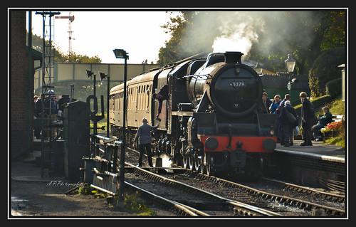 22.10.16 Mid Hants Steam Gala..Ropley LMS Class 5mt Black 5..45379