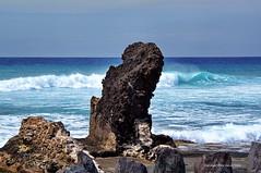 Wave and rock (DirkVandeVelde back) Tags: spain spanje beach strand sony sea zee tenerife spaans canarischeeilanden rots golven ondes wellen s
