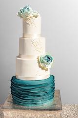 4 Tier Wedding Cake (1 of 2) (brian_barney9021) Tags: wedding cake ideas meringue lacrosse la crosse wi wisconsin bakery peacock buttercream frosting photoshop food lightroom nikon d3200