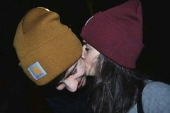 old pic, same bond (freckless_s) Tags: me girl boy kiss cute couple bff friend hat carhartt oldpic old memories happiness cutie love lovely missu nikon nikond3100 calabria cosenza cosenzafacile park streestyle bae