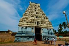 "Abhiramesvarar Temple (Rajagoupuram View) - Tiruvamattur - Villupuram- Tamilnadu. (Kalai ""N"" Koyil) Tags: nikon d 5200 kalai n koyil 2016 tokina 1116mm 18140mm tiruvamattur abhiramesvarar perumanadigal thiruvamathur villupuram gingee tamilnadu southindiantemple architecture parantakai sundarachola rajarajai gomadhupuram nadunadu21st shiva"
