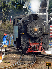 X CLASS 37399 STEAM LOCOMOTIVE (vijvijvij) Tags: mountaintrain ooty mettupalayam xclass
