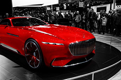 Vision Mercedes-Maybach 6 (Joseph Trojani) Tags: mercedes maybach voiture concept conceptcar vision salondelautomobile paris lectrique nikon d7000 auto show motor motorshow vhiculelectrique electricvehicle