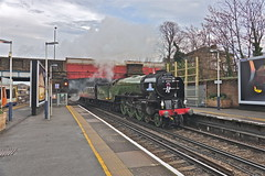 Richmond (Deepgreen2009) Tags: steam uksteam railway train special tour surrey hills luncheon station tornado richmond