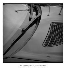 SLK280 Detail #4 (Godfrey DiGiorgi) Tags: colorskopar50mmf25 abstract automobile bw car detail shape slk280 stilllife santaclara california usa us