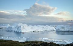 Icefjord cruise (loveexploring) Tags: diskobay greenland ilulissat ilulissaticefjord arctic boat iceberg icebergbank icefjord midnightsun worldheritage