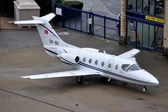 OK-BII Beech 400A Beechjet (Jersey Airport Photography) Tags: okbii beech400a be40 beechjet queenair jersey egjj jer
