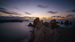 Nightfall on Costa Quebrada (TanzPanorama) Tags: nature seascape rock sky ng europe europa spain cantabria cantabriansea costa coastline costacantabrica costaquebrada longexposure le tanzpanorama sonya7ii sonyalpha fe1635mmf4zaoss sel1635z rockformation liencres pielagos nationalgeographic nd10stopfilter haidapro30 haidapro1000 roca urros losurros water waterscape night bayofbiscay