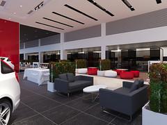 6 (Stephen Trinh) Tags: noi that showroom kia mazda interior design