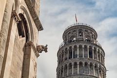 The Pisa Tower with Gargoyle...  #Pisa #Tower #Architecture #pisatower #torre #pendente #torrependente #gargoyle #Sky #Clouds #Landscape #Travel #Romantic #Europe #Italy #Tokina #SonyA5000 #StudioOCOMA (studioocoma) Tags: sonya5000 architecture tower europe gargoyle pendente travel torrependente torre romantic pisatower clouds studioocoma tokina landscape pisa italy sky