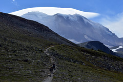 Pilgrimage to Zhak (Sotosoroto) Tags: dayhike hiking mtrainier rainier burroughsmountain burroughsmtn mountains washington cascades trail