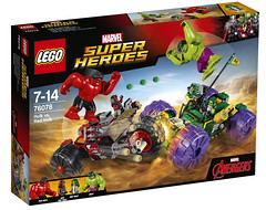 LEGO 76078 Marvel Super Heroes Hulk vs Red Hulk (hello_bricks) Tags: lego 76078 marvel super heroes hulk vs red legomarvel superheroes toy toys 2017