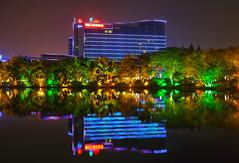 Guilin at night (RH&XL) Tags: guilin 桂林 广西 guangxi china lijiang downtown night lake river