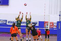 IMG_6882 (SJH Foto) Tags: girls volleyball high school allentown central catholic somerset team teen teenager net battle spike block action shot jump midair