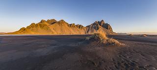 Dunes and Vestrahorn