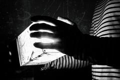 Hot light (marcus.greco) Tags: light portrait black white dark conceptual surreal selfportrait